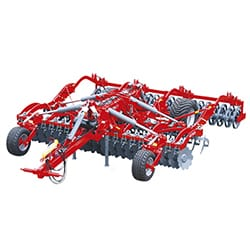 Unia Ares HP XXL Speed Tiller