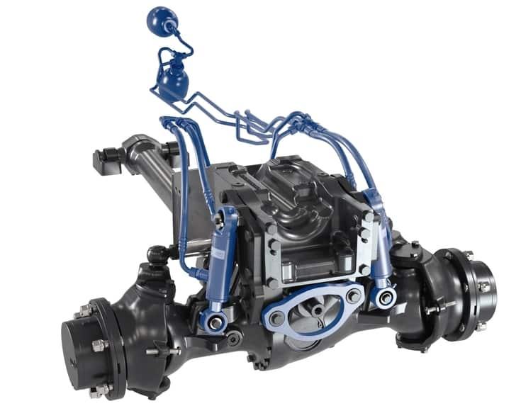 Fendt 200P front axle