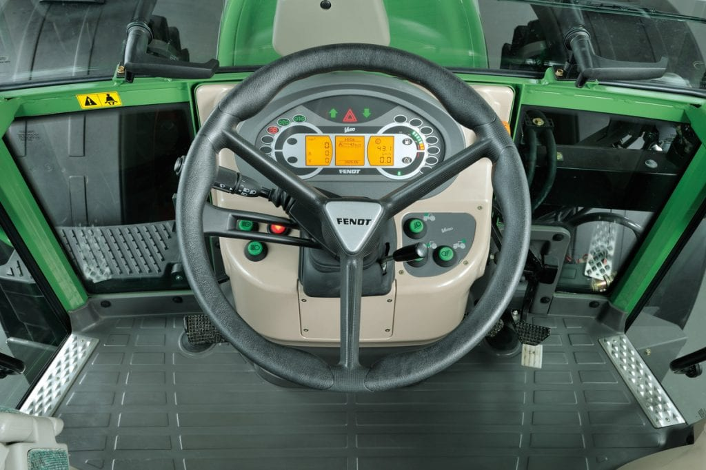 Fendt 210 steering wheel