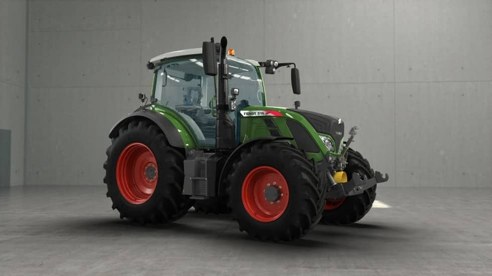 Fendt 500 angle