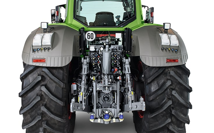 Fendt 800 rear interfaces