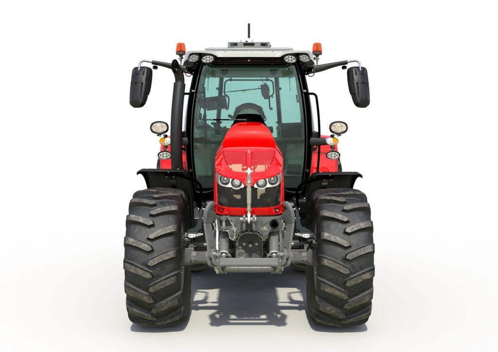 MF 5700 S front