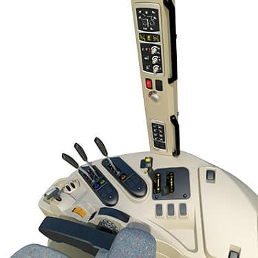 MF 7600 controls