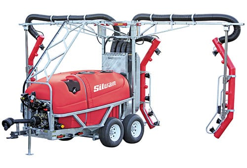 Silvan 3000L TGS Vineyard Sprayer Stockist Serafin Ag Pro Griffith
