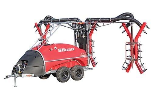 Silvan 4000L G2E Turbo Scram Trailed 3 Row Tri-Wrap Stockist Serafin Ag Pro Griffith