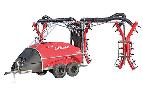 Silvan 4000L G2E Turbo Scram Trailed 3 Row Tri-Wrap