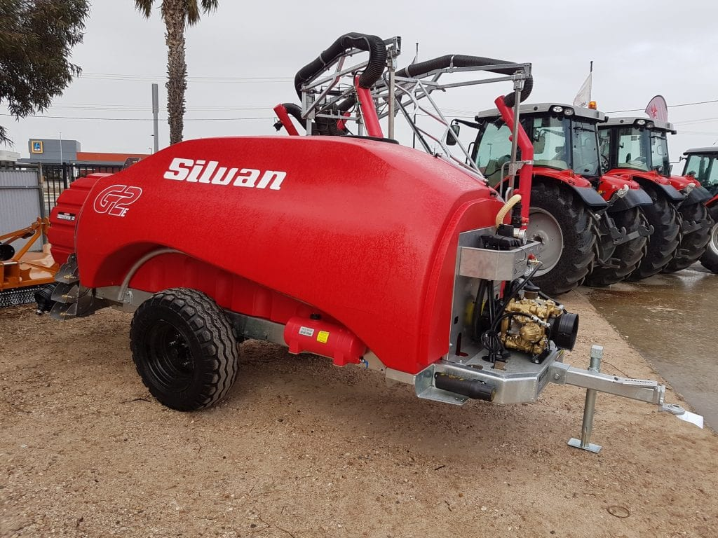 Silvan G2E 4000L Orchard Sprayer Stockist Serafin Ag Pro Griffith
