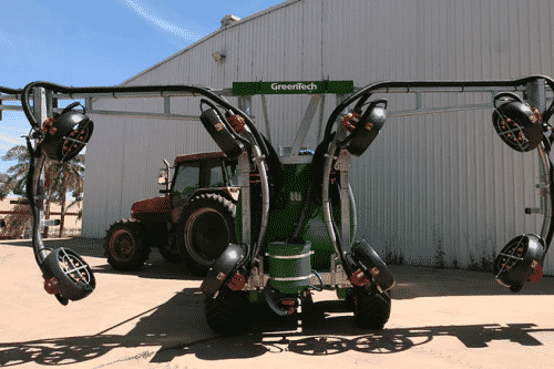 Greentech 3 Row Vineyard Sprayer Stockist Serafin Ag Pro Griffith