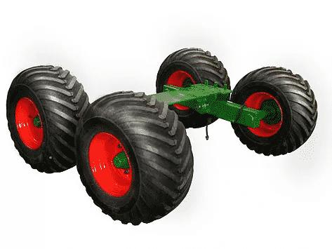 Greentech Vineyard axle