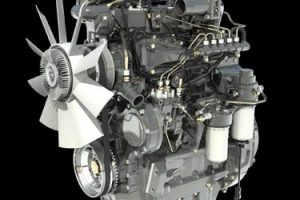 MF 4707 engine