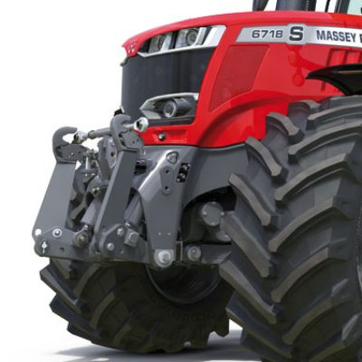 MF 6700 S front linkage