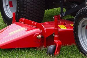 MF GC mower